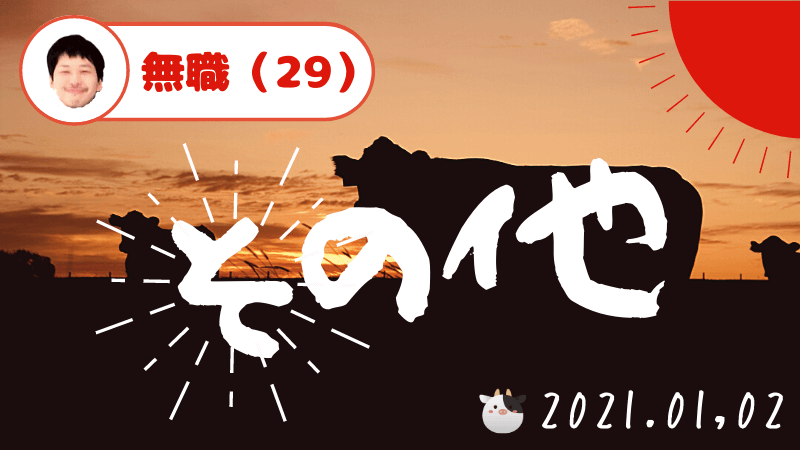 20代 終了 2021年 抱負
